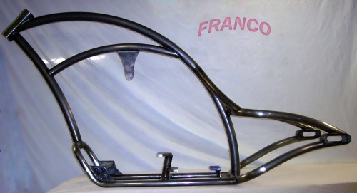 custom chopper frames