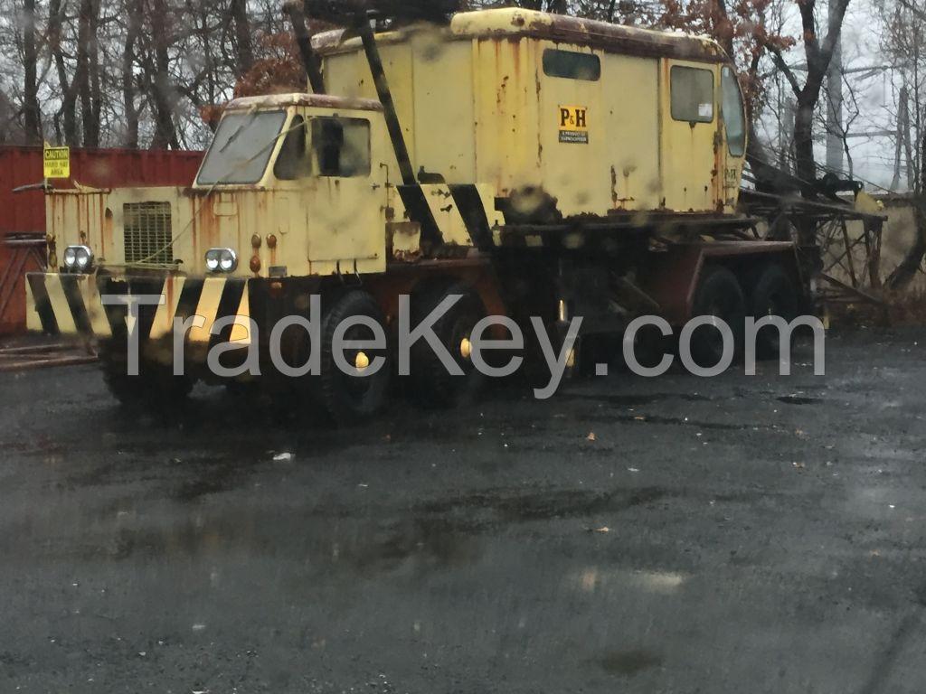 50 Ton P&H Truck Crane - Used