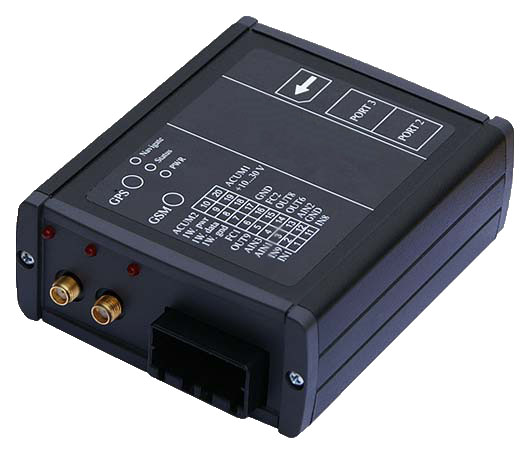 GSM/GPS Fleet management system