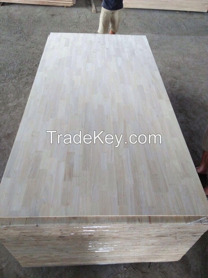 RubberWood Finger Joint Laminated Panels 12mm, 17mm
