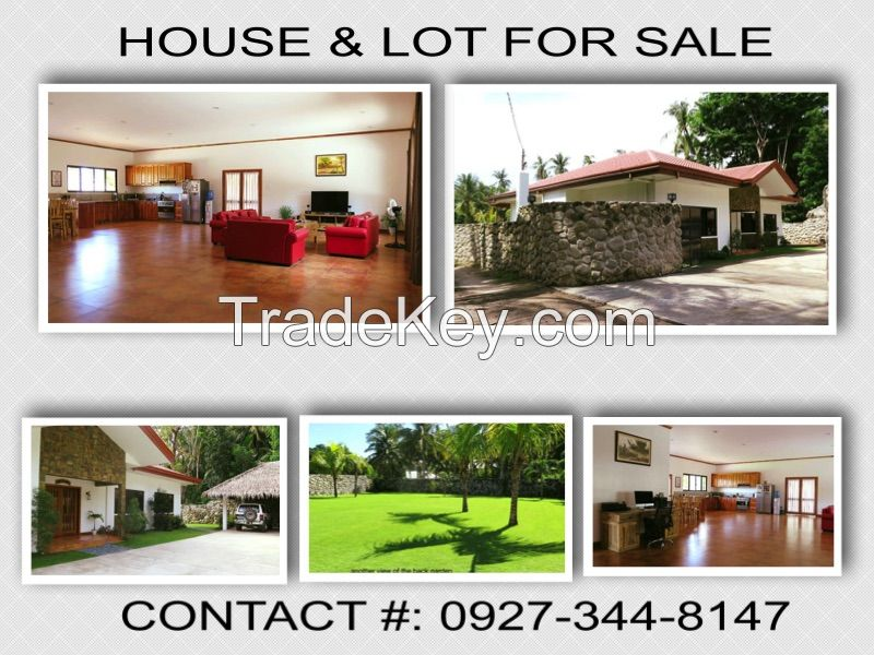 Executive house and lot for sale