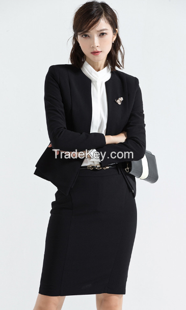 Korean style business formal slim fit office lady women's dress suits