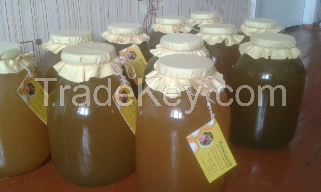 Quality natural honey
