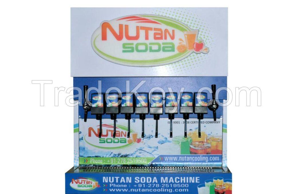 8+2 soda fountain machine