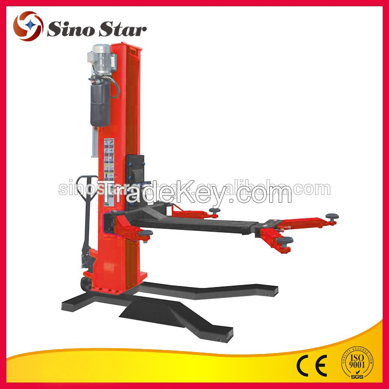SIno Star hydraulic single post car lift for home garage