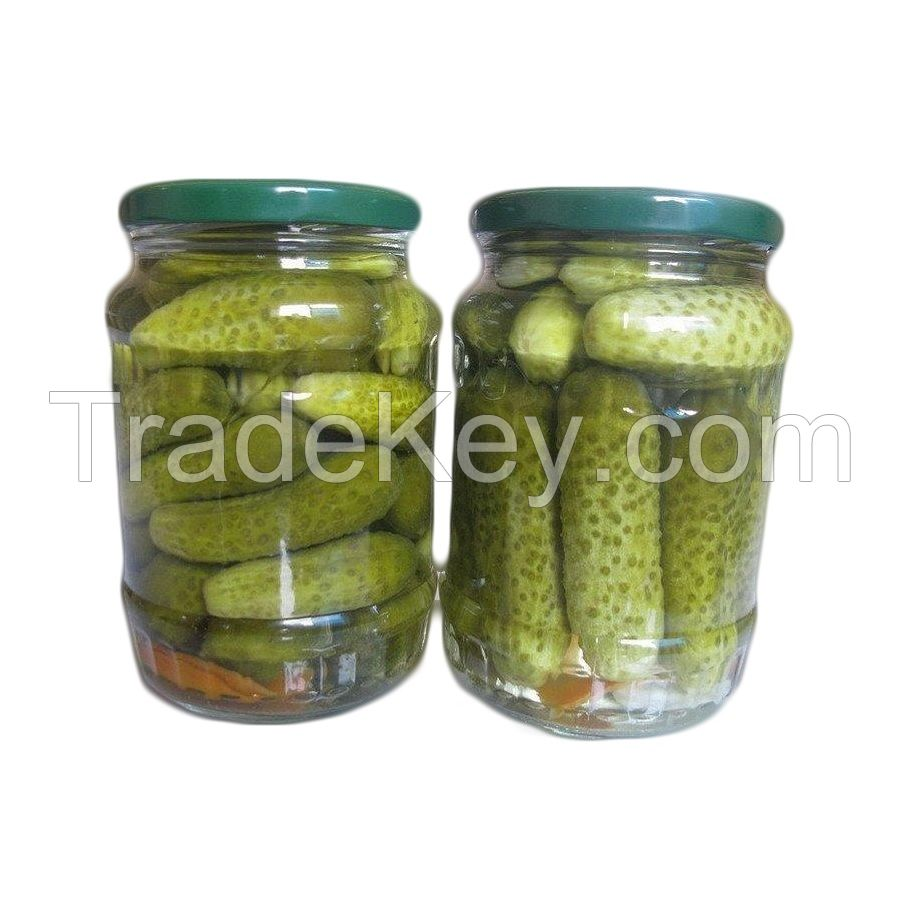 Organic Canned Pickled Cucumber/Gherkin In Vietnam