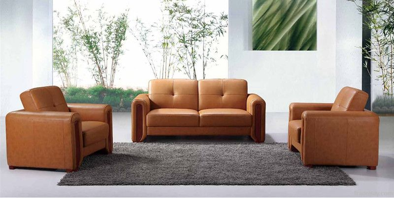 Leather SOFA Modern Style