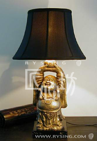 Table Lamp/laughing Buddha