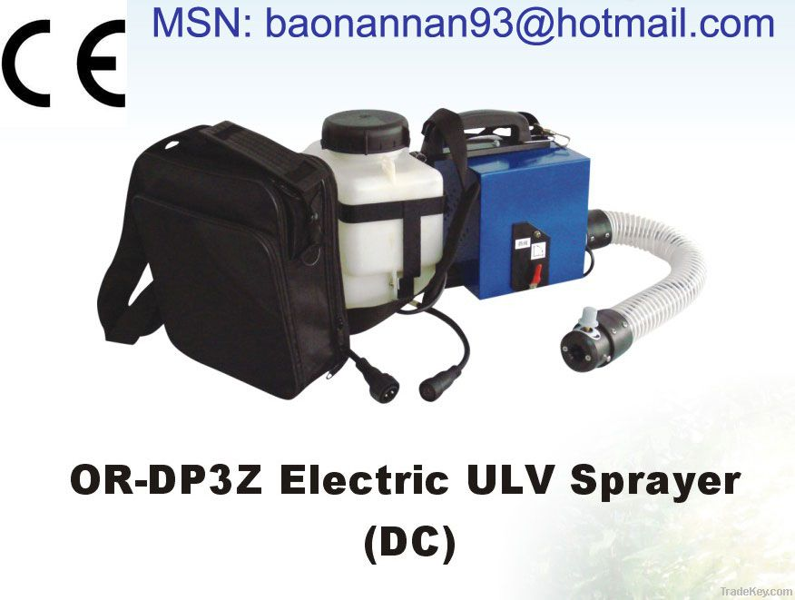 Battery operated ULV Sprayer