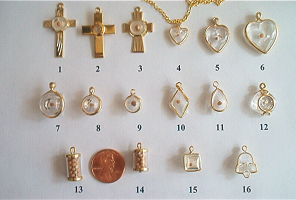 Christian Cross Jewelry Necklaces Silver & Gold,