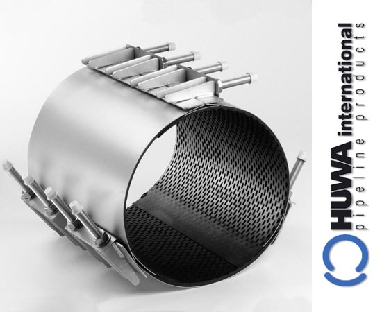 Stainless steel repair clamp by huwa international