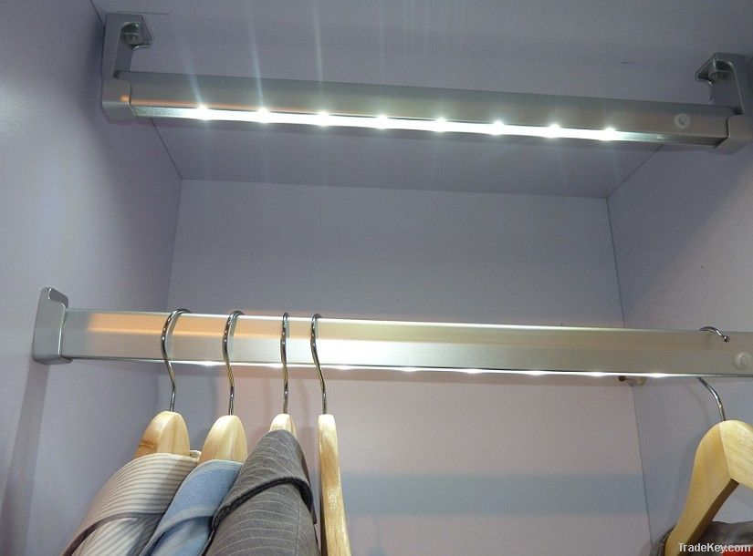 Pir motion sensor light wardrobe led light photo and picture.