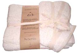 !00% Egyptian Cotton Chemical Free Towel Set