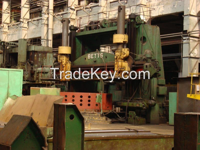 vertical turret lathe Bett's 6000 mm