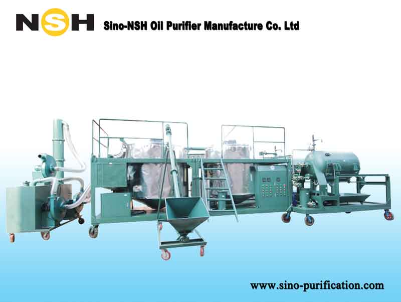 Engine oil regeneration motor oil recycling plant used for Motor oil recycling center
