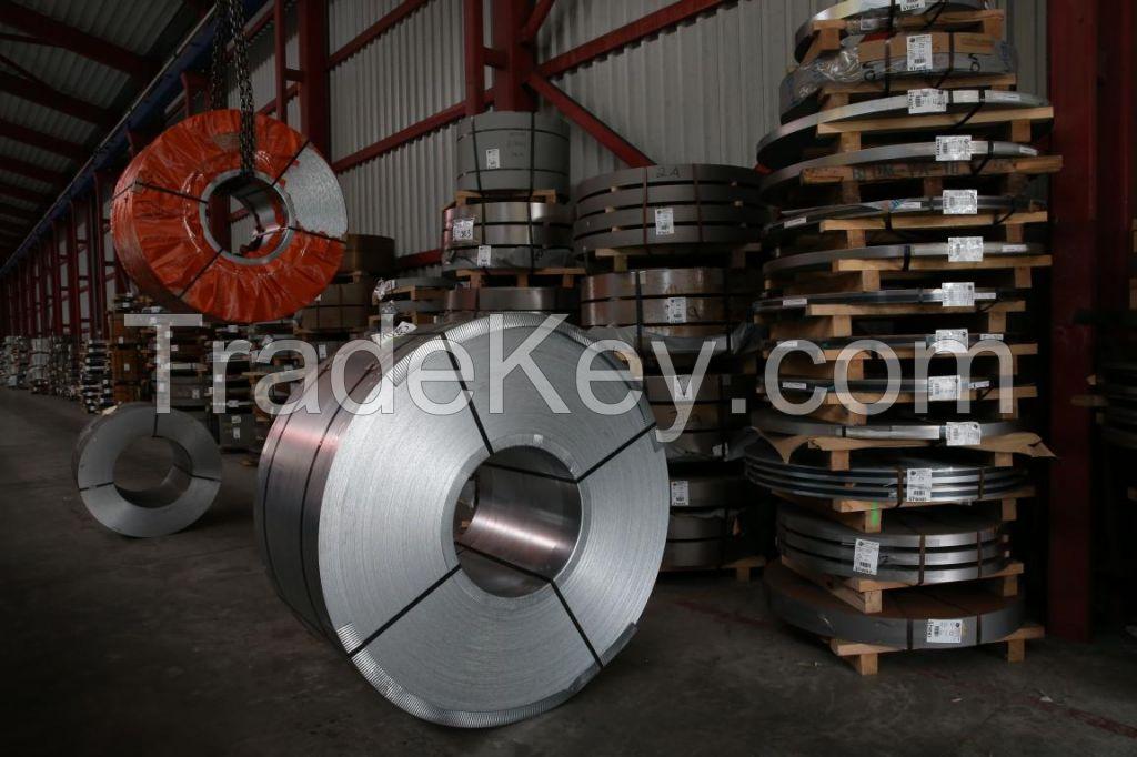 Hot dip galvanized coils