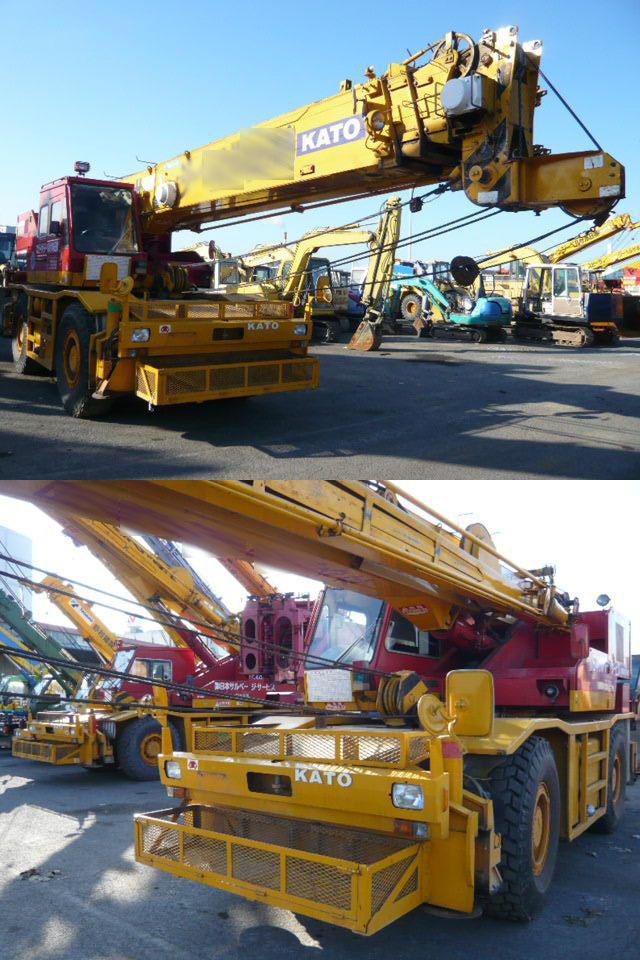 Rough Terrain Crane Rental Singapore : Kato ton rough terrain crane cranes tradekey