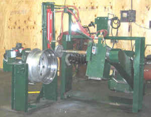 used wheel polishing machine
