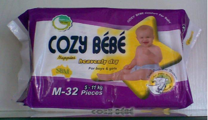 Cozy BeBe Heavenly Dry Nappies