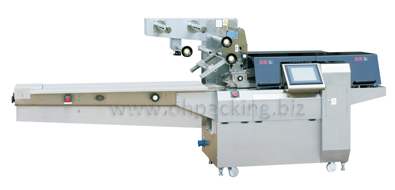 Packing Machine, Packaging machine - Full servo flow wrapping machine