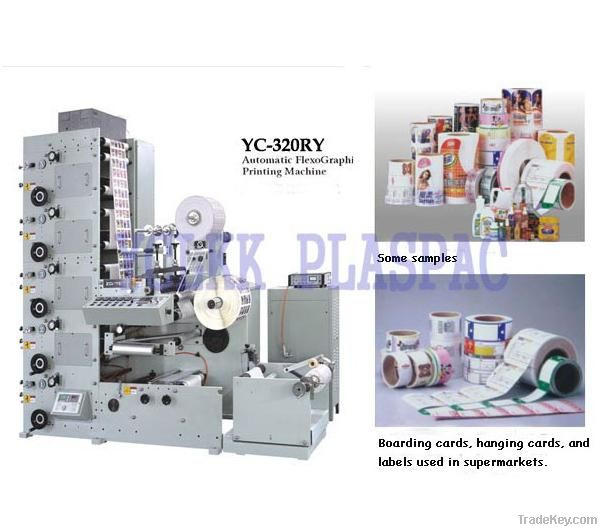 Lable Flexographic Printing Machine