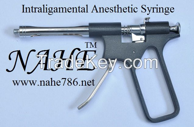 Dental Intraligamental Anesthetic Syringe Dental Gun