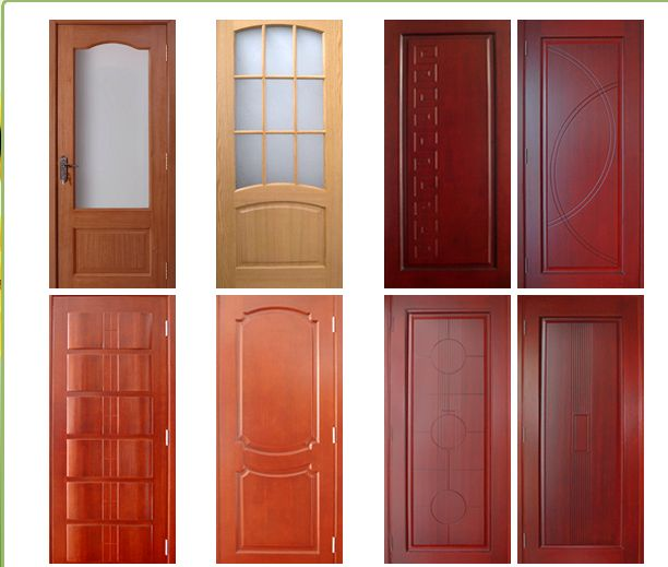 Wooden doors products offered by shouguang linbon wood co for Modelos de puertas interiores para dormitorios
