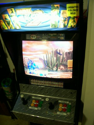 Image result for marvel vs capcom 2 arcade machine