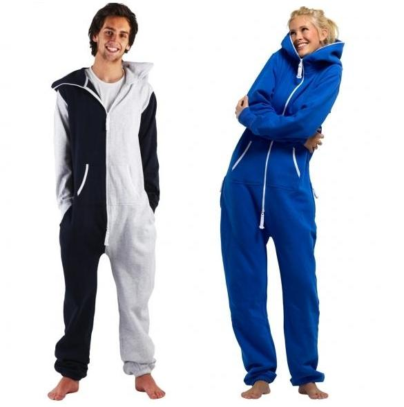 Fleece One Piece Suit