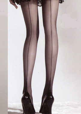 Italian tights SISI, Collant con Riga