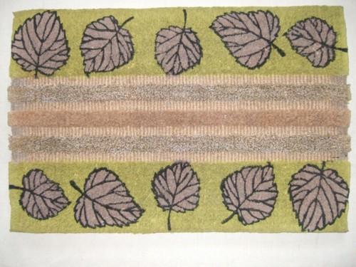 Grass & Coir Printed Mat