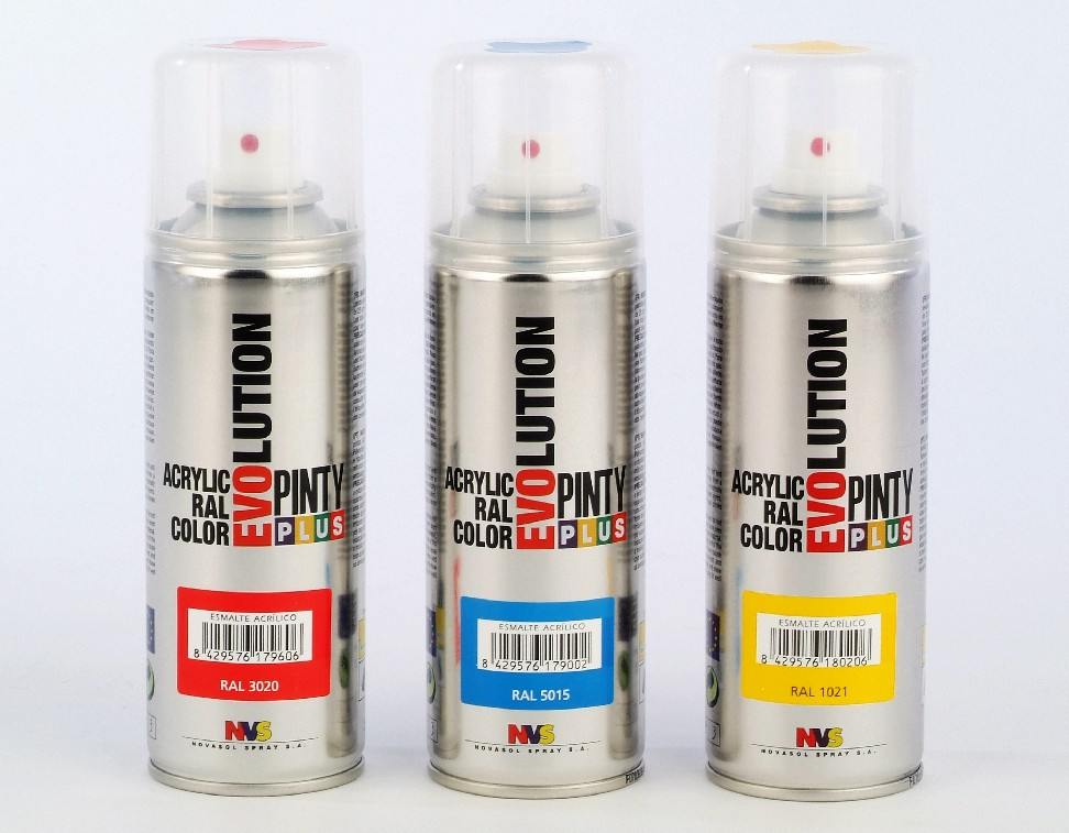 Acrylic Spray Paint Evolution By Novasol Spray S A Spain