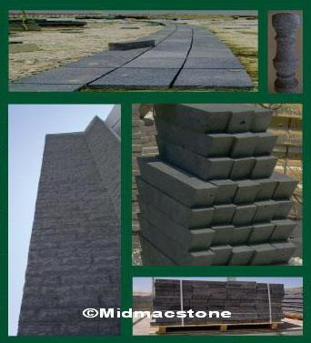 Basalt Stone/Travertine