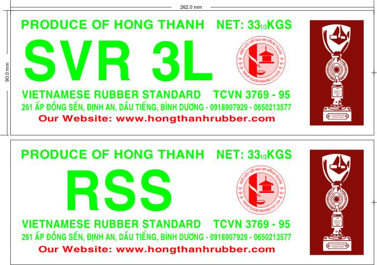 SVR 3L Natural Rubber