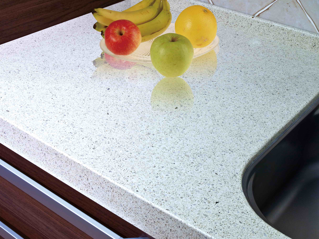 artificial quartz stone , kitchen top