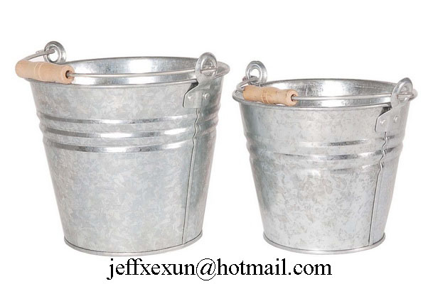 metal buckets  galvanized buckets