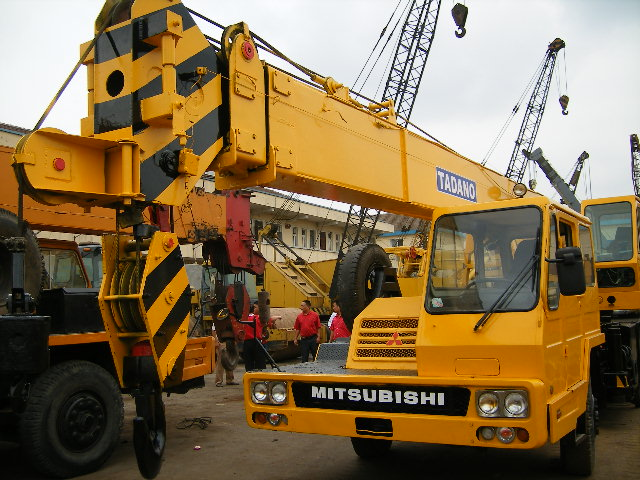 Used truck cranes used bulldozer used motor grader for Motors used in cranes