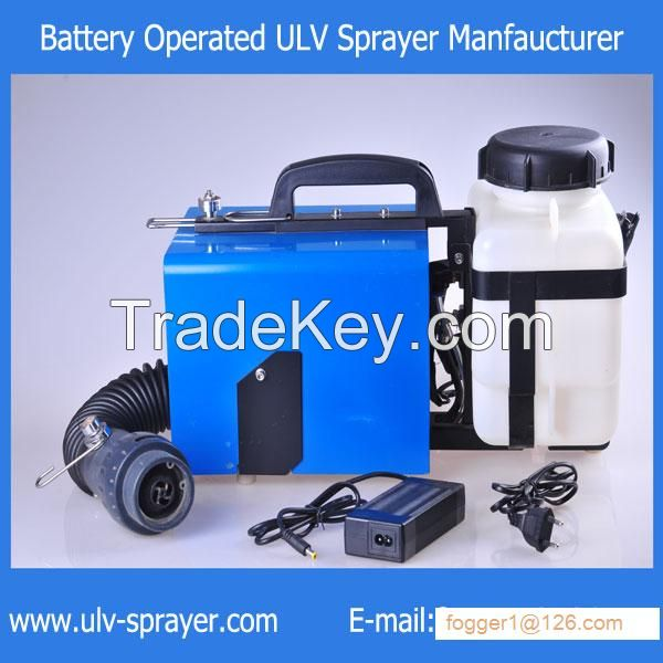 Rechargeable Lithium Battery ULV sprayer for pest control and Disinfection