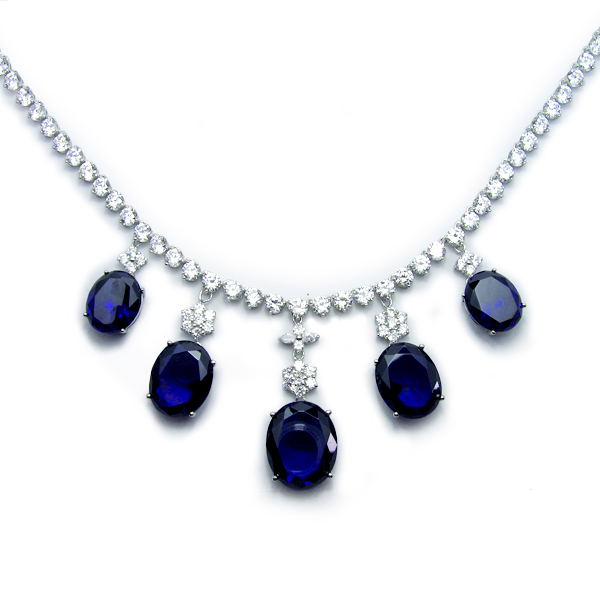 High Quality Cubic Zirconia Jewelry in Sterling Silver