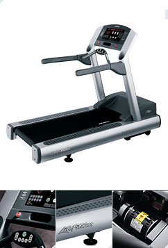 Lifefitness 95Ti Cardio, Treadmill-Remanufactured