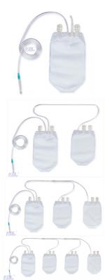 KDL Multi-Configuration Disposable Blood Collection Bags