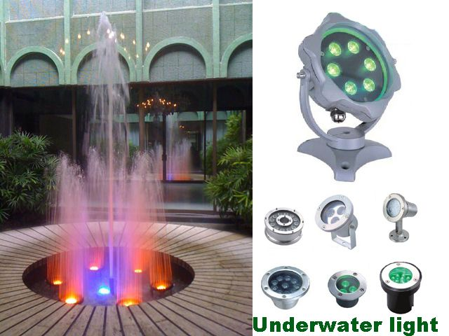 LED Fountain Light