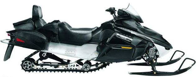 Arctic Cat T Z1 Turbo Touring LXR Snowmobile