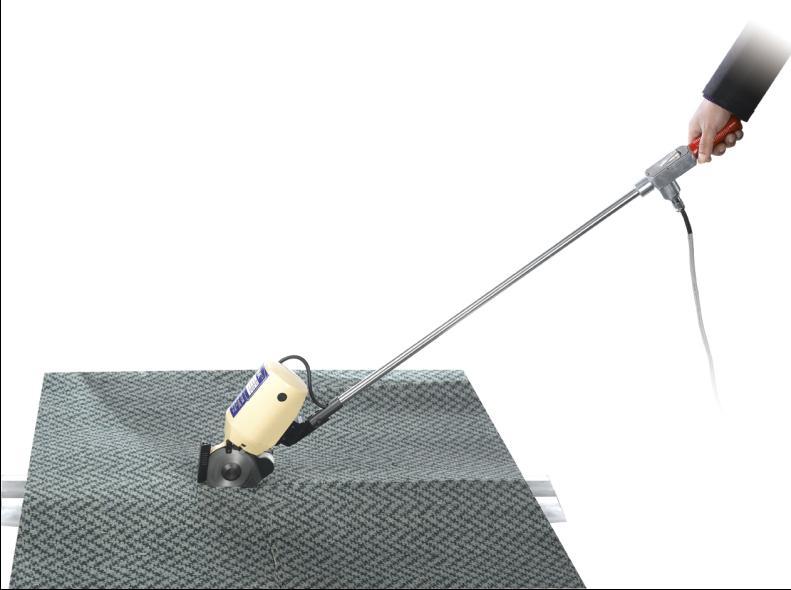 round carpet cutting machine