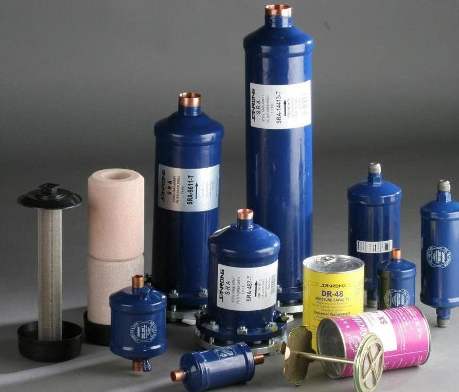 filter drier, filter cylinder, filter core passed UL Approvel