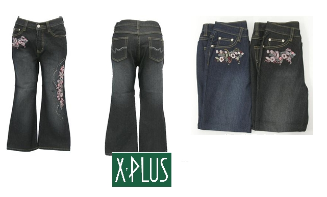 Reeds Jeans - Rhinestone & Embroidery Pants