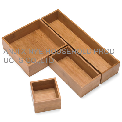 bamboo drawer organizer by anji xinye household products co