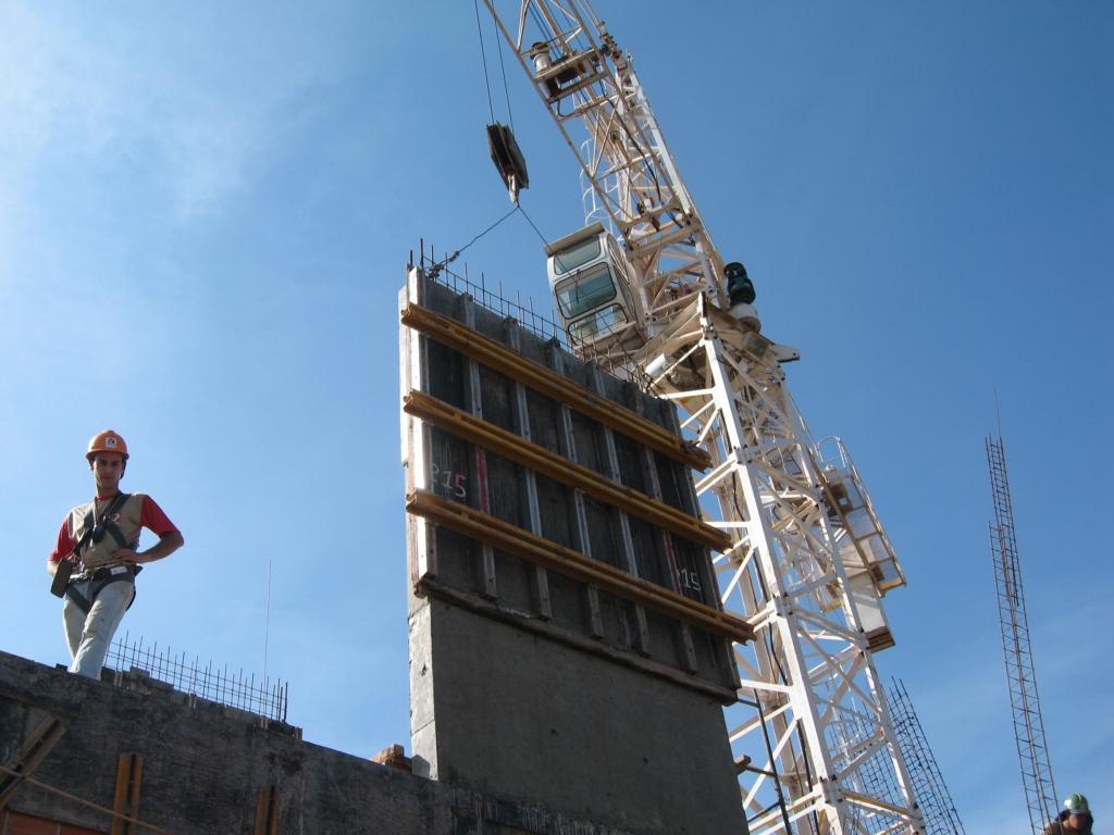 Tower Crane Climbing : Inner climbing tower crane by shandong yongli hoisting