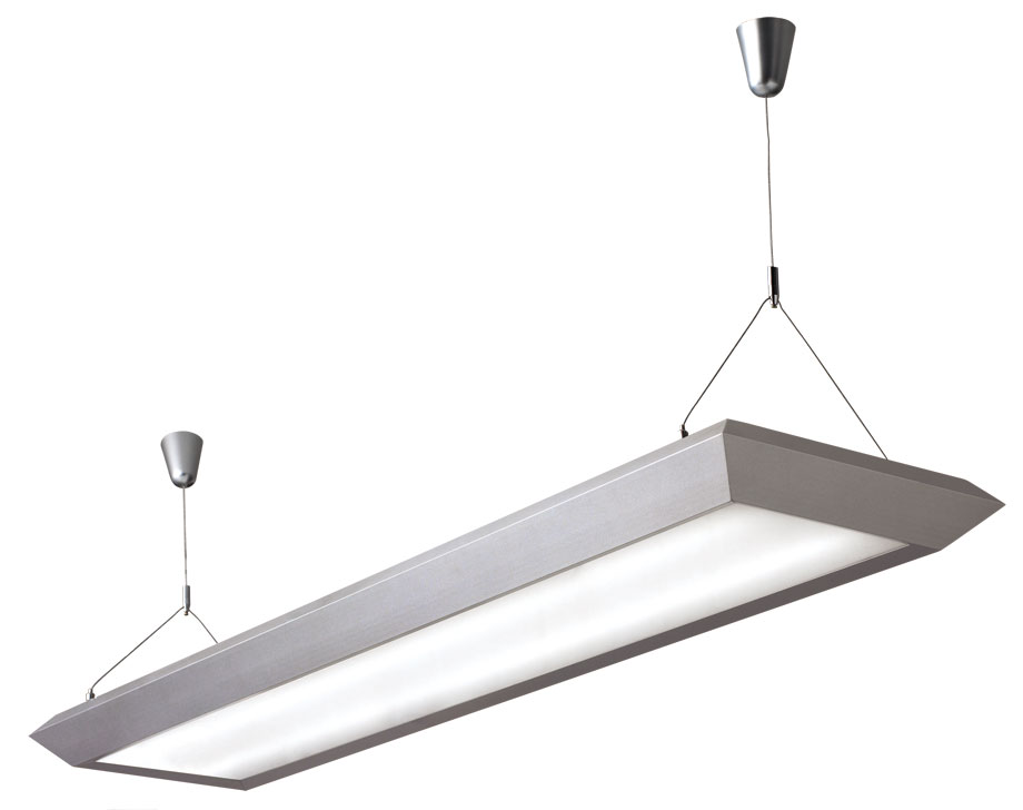 Fluorescent Office Lighting Suspended Lamps Ceiling