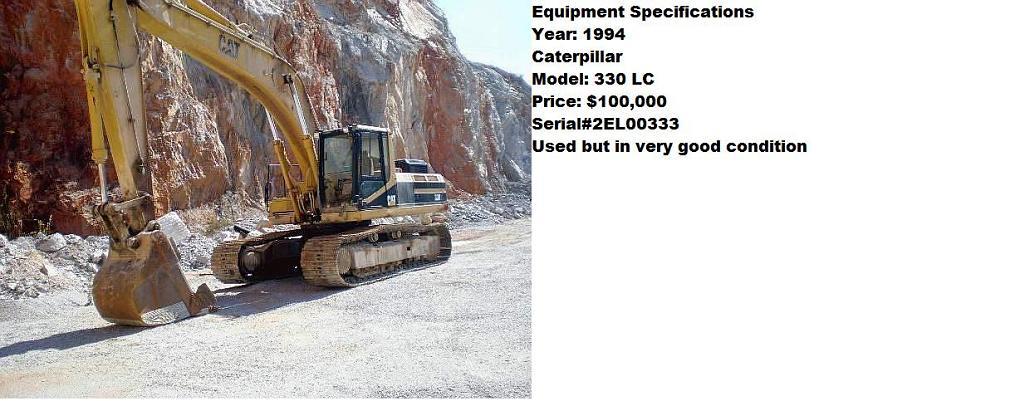 Caterpillar 330LC Excavator